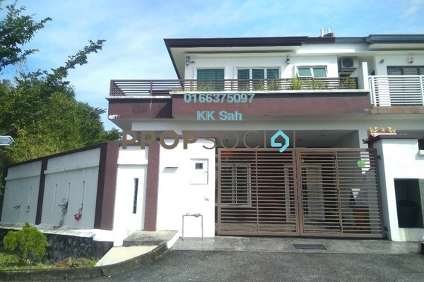 For Sale Superlink at Bandar Damai Perdana, Cheras South Freehold Semi Furnished 5R/4B 1.35m
