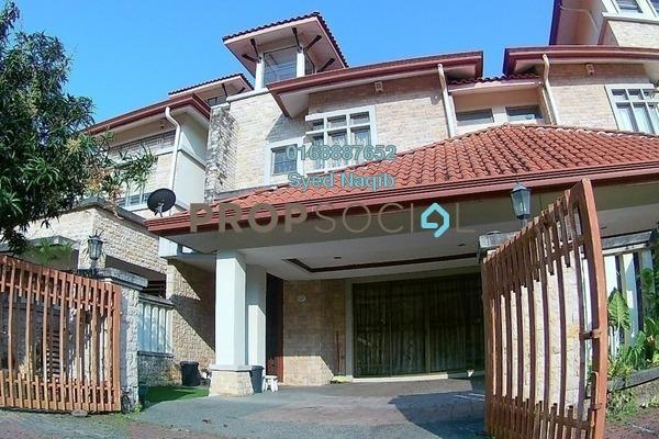 For Sale Superlink at Lagenda 1, Bukit Jelutong Freehold Fully Furnished 4R/4B 890k