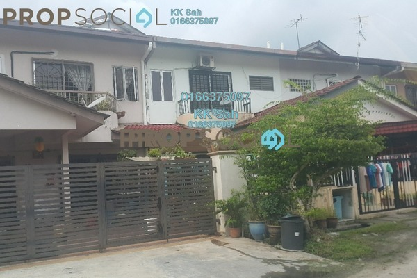 For Sale Terrace at Section 6, Bandar Mahkota Cheras Freehold Unfurnished 4R/3B 465k