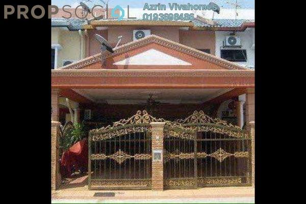 For Sale Terrace at Taman Bayu Perdana, Klang Freehold Semi Furnished 5R/3B 550k