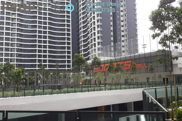 For Rent Serviced Residence at KL Traders Square, Kuala Lumpur Freehold Semi Furnished 3R/3B 1.5k