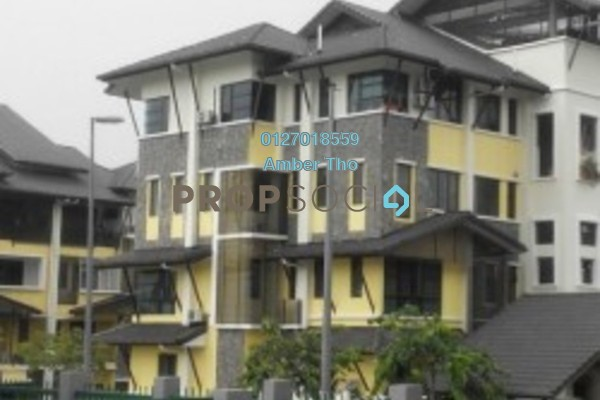 For Sale Townhouse at Lake Valley, Bandar Tun Hussein Onn Freehold Semi Furnished 5R/5B 821k