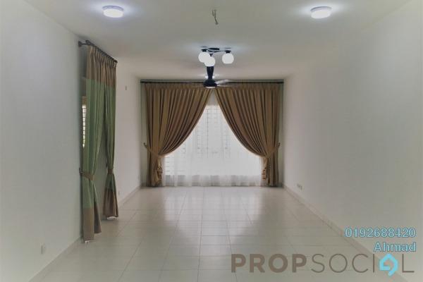 For Rent Apartment at Seri Mutiara, Setia Alam Freehold Semi Furnished 3R/2B 1.3k