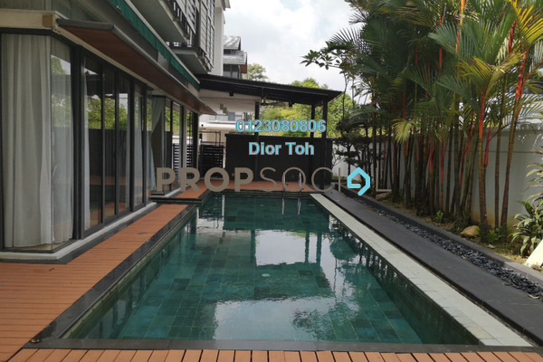 For Rent Semi-Detached at Idamansara, Damansara Heights Freehold Semi Furnished 5R/6B 18.5k
