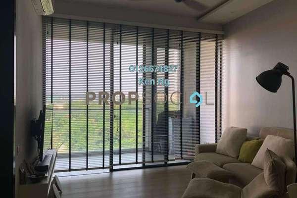For Sale Condominium at Twin Arkz, Bukit Jalil Freehold Semi Furnished 1R/1B 670k