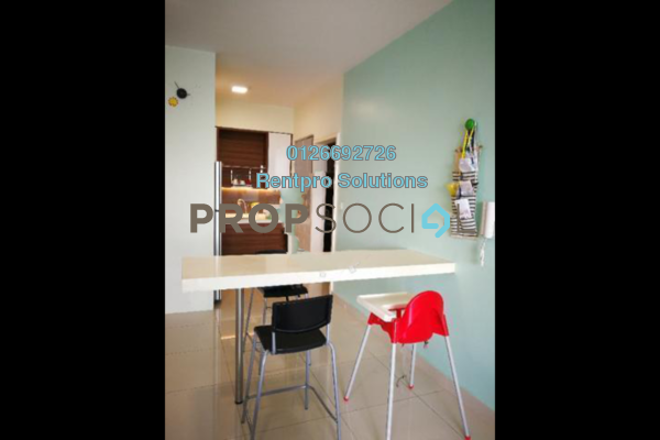 For Rent Condominium at The Z Residence, Bukit Jalil Freehold Fully Furnished 3R/2B 2.5k