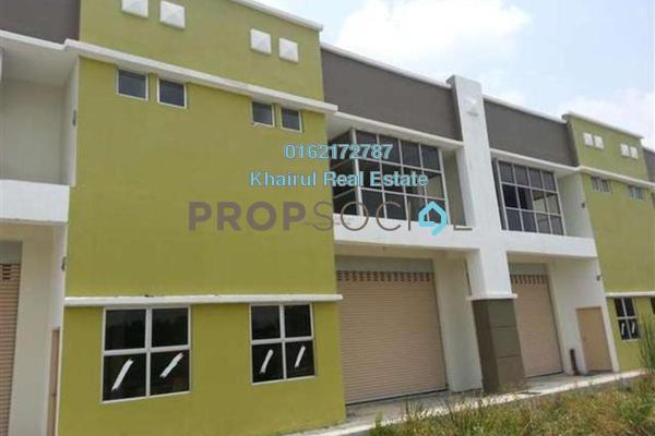 For Rent Factory at Bukit Kemuning Industrial Park, Kota Kemuning Freehold Unfurnished 0R/1B 3k