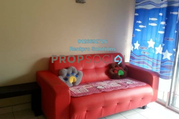 For Rent Apartment at Arena Green, Bukit Jalil Freehold Semi Furnished 2R/2B 1.4k