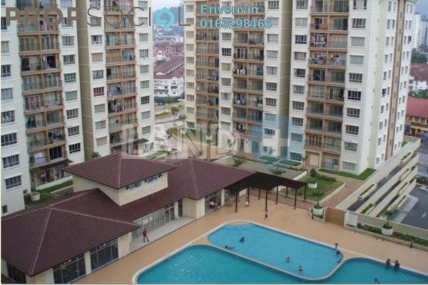 For Rent Condominium at Ampang Prima, Ampang Freehold Semi Furnished 3R/2B 1.5k