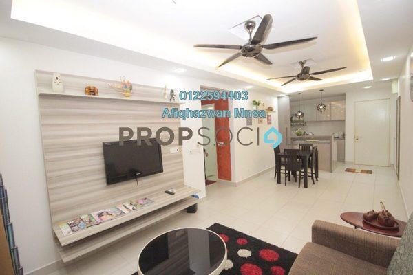 For Sale Apartment at Seri Jati Apartment, Setia Alam Freehold Fully Furnished 3R/2B 350k