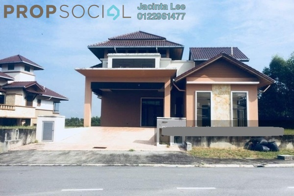 For Sale Bungalow at Bukit Bayu, Shah Alam Leasehold Unfurnished 5R/6B 1.76m