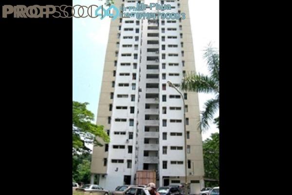 For Sale Apartment at Taman Bukit Jambul, Bukit Jambul Freehold Semi Furnished 3R/2B 290k