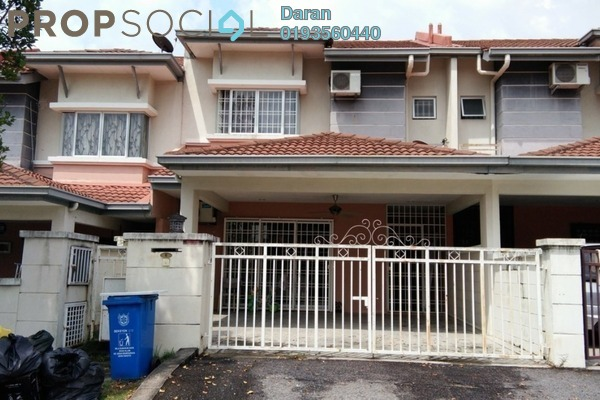 For Rent Terrace at Sunway Alam Suria, Shah Alam Freehold Semi Furnished 4R/3B 1.7k