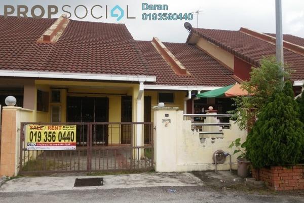 For Rent Terrace at Jade, Bandar Bukit Raja Freehold Semi Furnished 3R/2B 1k