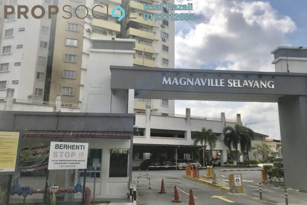 For Sale Condominium at Magna Ville, Selayang Freehold Semi Furnished 3R/2B 348k