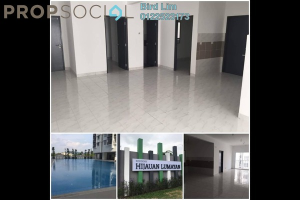 For Rent Terrace at Salak South Garden, Sungai Besi Freehold Semi Furnished 3R/2B 1.5k