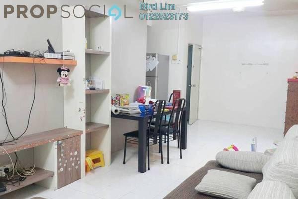For Sale Terrace at Putra Indah Apartment, Bandar Putra Permai Freehold Semi Furnished 4R/2B 268k