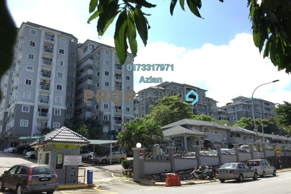 For Sale Condominium at Sri Permata, Shah Alam Leasehold Semi Furnished 3R/2B 390k