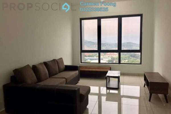 For Rent Condominium at Kiara Plaza, Semenyih Freehold Fully Furnished 3R/2B 2.2k