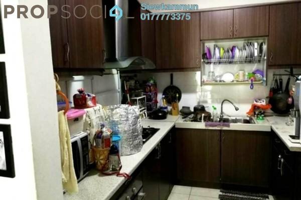 For Sale Apartment at Perdana View, Damansara Perdana Freehold Semi Furnished 3R/2B 400k