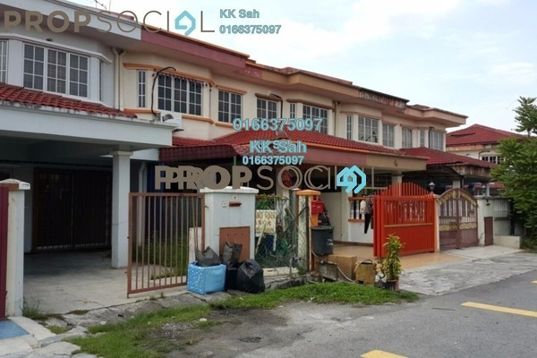 For Sale Link at Taman Sentosa, Klang Freehold Semi Furnished 4R/3B 388k