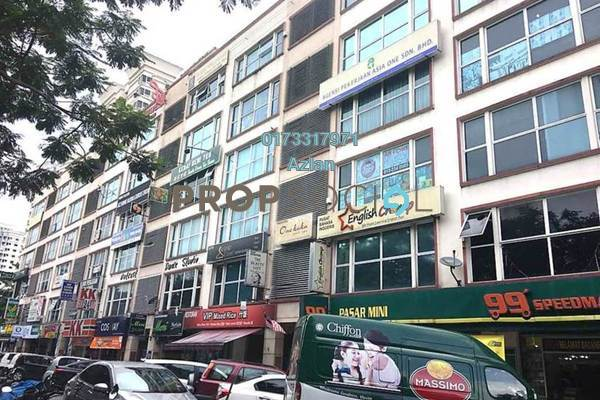 For Sale Office at One Avenue, Bandar Utama Freehold Semi Furnished 0R/2B 680k
