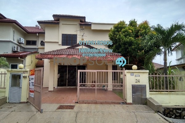 For Sale Semi-Detached at Suasana, Bandar Tun Hussein Onn Freehold Semi Furnished 5R/4B 800k