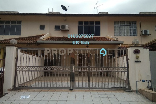 For Sale Terrace at Section 8, Bandar Mahkota Cheras Freehold Semi Furnished 4R/3B 450k