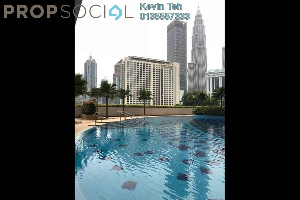 For Sale Condominium at Crest Jalan Sultan Ismail, KLCC Freehold Fully Furnished 2R/2B 1.3百万