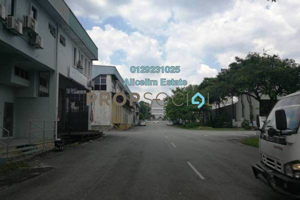 For Sale Factory at TSB Commercial Centre, Sungai Buloh Leasehold Semi Furnished 0R/4B 1.7m