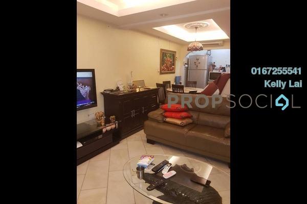 For Sale Terrace at Taman Sri Sinar, Segambut Freehold Semi Furnished 3R/2B 468k