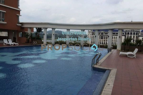 For Rent Condominium at Fortune Park, Seri Kembangan Freehold Fully Furnished 3R/2B 1.6k