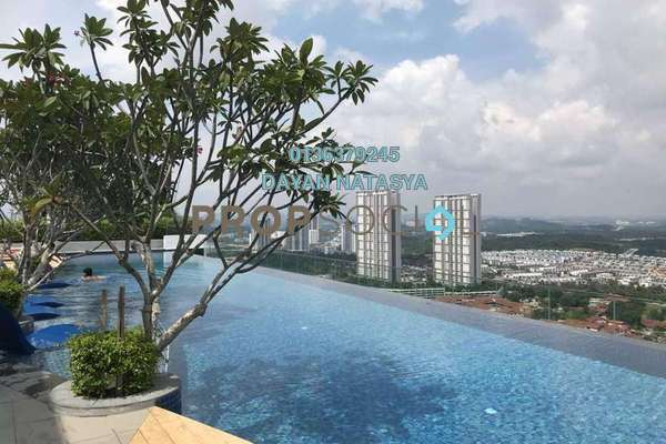For Sale Serviced Residence at Eclipse Residence @ Pan'gaea, Cyberjaya Freehold Fully Furnished 3R/2B 830k