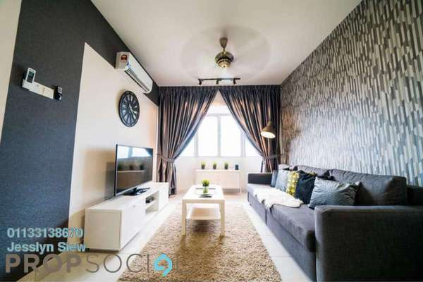 For Rent Serviced Residence at Main Place Residence, UEP Subang Jaya Freehold Fully Furnished 3R/2B 3k
