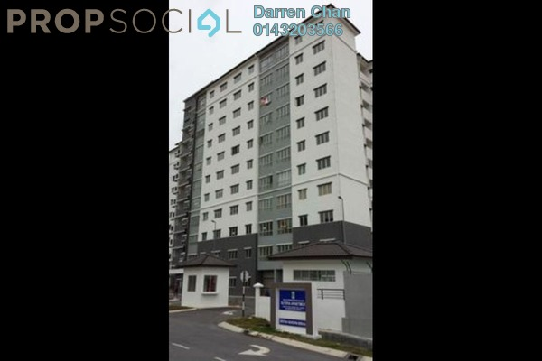 For Sale Apartment at Sutera Apartment, Bandar Tun Hussein Onn Freehold Unfurnished 3R/2B 290k