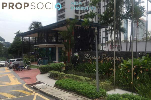 For Sale Condominium at Menara Bangsar, Bangsar Freehold Semi Furnished 4R/3B 1.78m