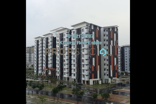 For Sale Apartment at Seri Kasturi, Setia Alam Freehold Fully Furnished 3R/2B 388k