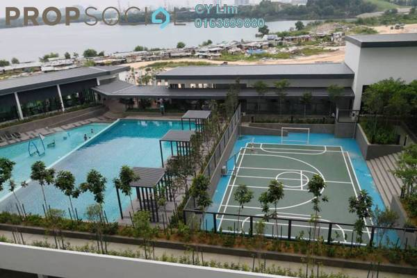 For Rent Condominium at Skyvilla @ D'Island, Puchong Freehold Semi Furnished 3R/2B 2k