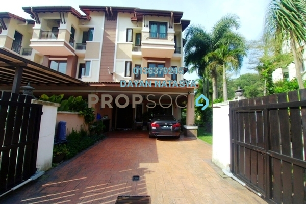 For Sale Terrace at Taman Bukit Utama, Bukit Antarabangsa Freehold Semi Furnished 5R/6B 1.55m