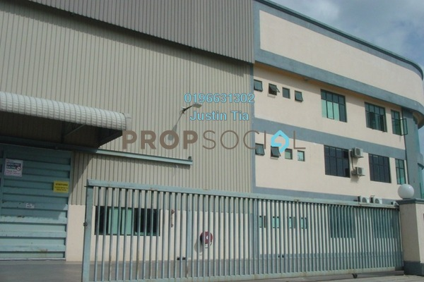 For Rent Factory at Seksyen 32, Bukit Rimau Freehold Semi Furnished 0R/8B 87k