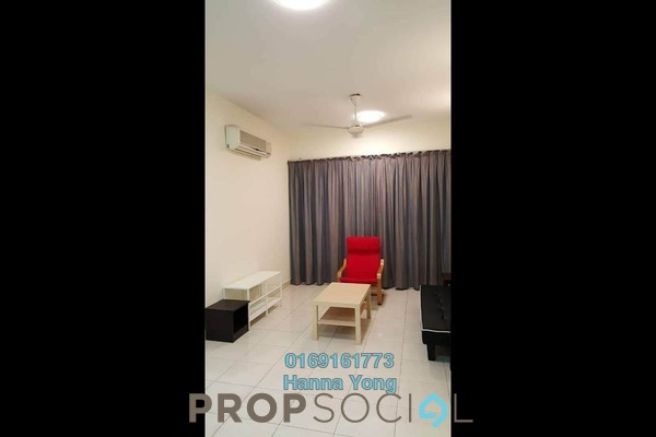 For Sale Serviced Residence at e-Tiara, Subang Jaya Freehold Fully Furnished 3R/2B 600k