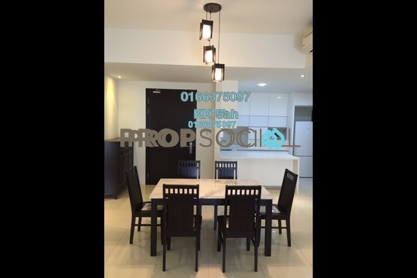 For Sale Condominium at Damai Vista, Cheras South Freehold Unfurnished 3R/2B 549k