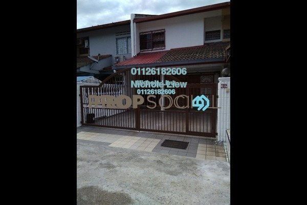 For Sale Terrace at Taman Megah, Cheras South Freehold Semi Furnished 3R/2B 438k