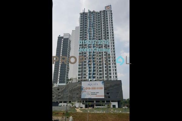 For Sale Condominium at Trinity Aquata, Sungai Besi Freehold Semi Furnished 3R/2B 738k