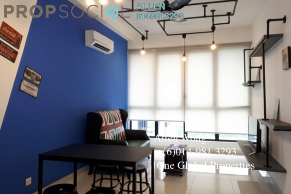 For Rent Condominium at Eco Botanic, Skudai Freehold Fully Furnished 1R/1B 1.9k