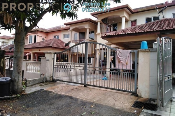 For Sale Terrace at Taman Cheras Mewah, Cheras South Freehold Semi Furnished 4R/3B 474k