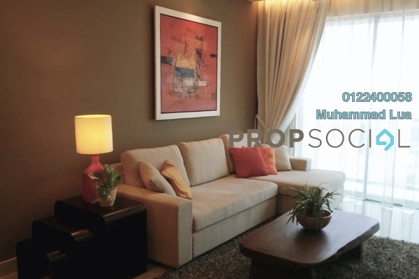 For Rent Serviced Residence at Solaris Dutamas, Dutamas Freehold Fully Furnished 2R/2B 5.6k