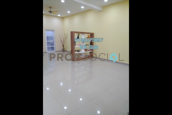For Rent Terrace at SL8, Bandar Sungai Long Freehold Semi Furnished 4R/3B 1.3k