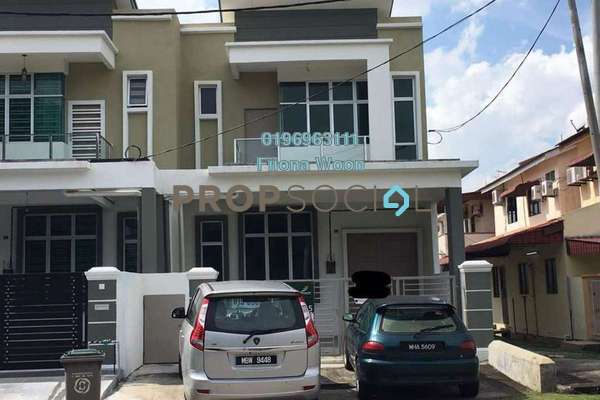 For Sale Terrace at Taman Merak Mas, Bukit Katil Freehold Unfurnished 4R/4B 518k