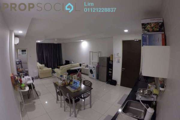 For Rent Condominium at Central SOHO @ Central Residence, Sungai Besi Freehold Fully Furnished 2R/2B 1.8k